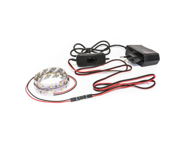 Светодиодная лента- подсветка для тумбы ТВ