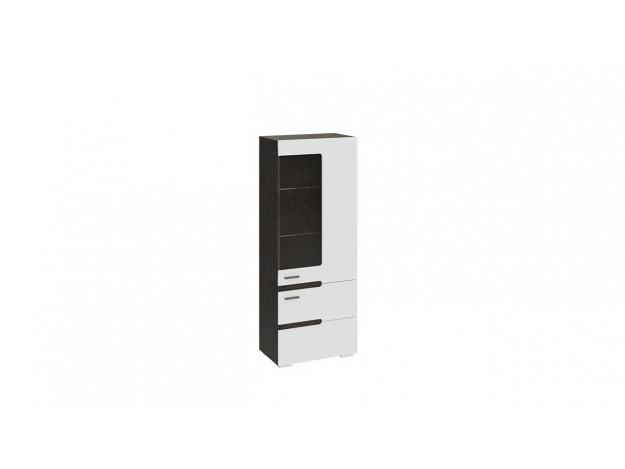 Шкаф для посуды «Фьюжн» ТД-260.07.27 венге/ белый глянец модуль 2