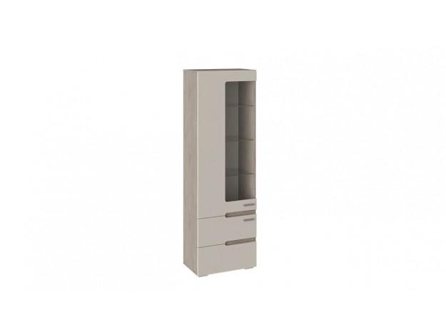 Шкаф для посуды «Фьюжн» ТД-260.07.25 дуб сонома трюфель/ бежевый модуль 1