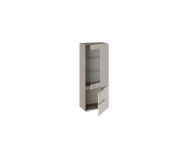 Шкаф для посуды «Фьюжн» ТД-260.07.27 дуб сонома трюфель/ бежевый модуль 2