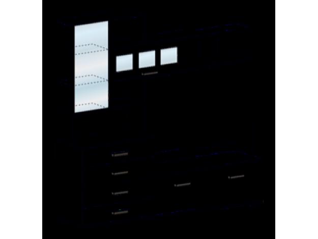 Центральная секция Яна ТВ 751 модуль 1