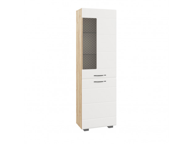 Шкаф АШКС 600.1 (стеклополки)