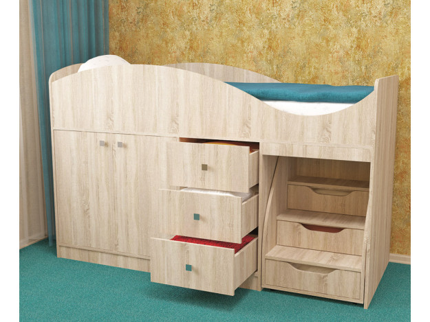 Кровать детская «Стрелка» (70х180)