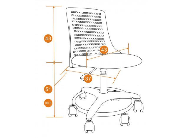 Кресло детское «Кидди» (KIDDY) схема