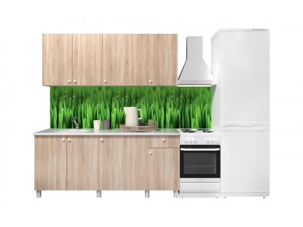 Кухонный гарнитур POINT-180 Фасад Сонома