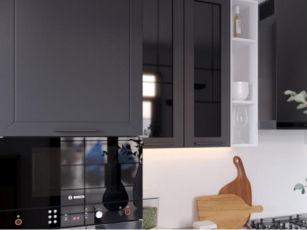 "Кухня ""Глетчер"" 2.4м (Айленд Силк)"