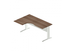Стол интегральный на металлокаркасе АМК-44R\L (Агат)