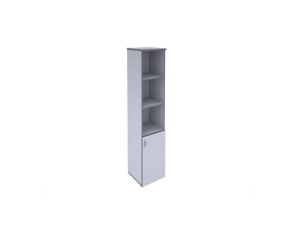 Шкаф узкий комбинированный А-24.0 (Агат)