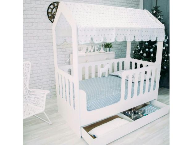 Кроватка-домик (Мир Мебели)