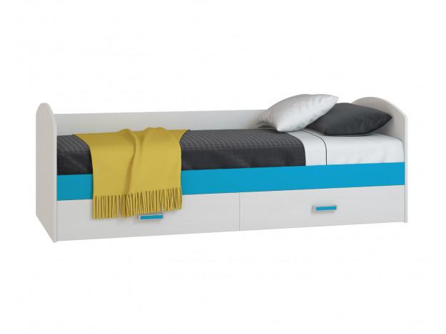 Модуль 1 - Диван-кровать с 2 ящиками 800 x 2000
