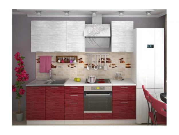 """Кухня """"Валерия страйп"""" (2.0м) (модульная)"""