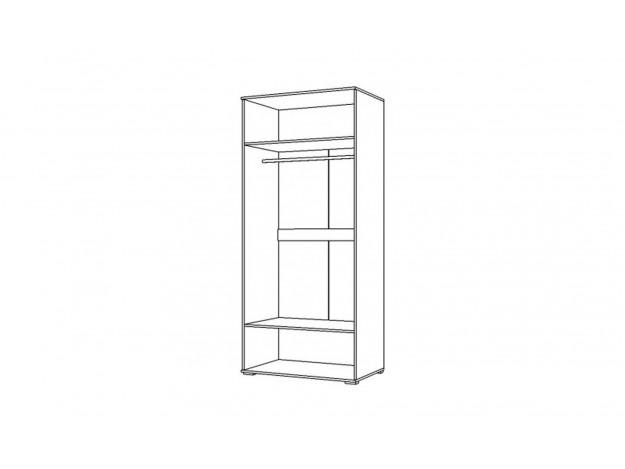 "Шкаф 2-створчатый ""Вегас""(2Д)"
