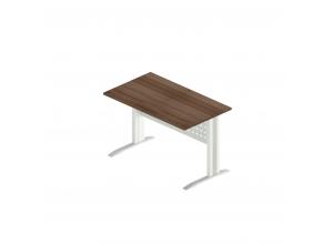 Стол прямой на металлокаркасе АМК-4 (Агат)