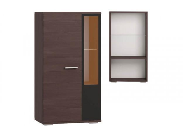 """Гостиная """"Чикаго""""(модульная) Шкаф 1-дверный (витрина)"""