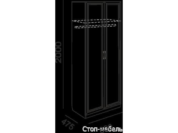 Модуль 2 Шкаф штанга
