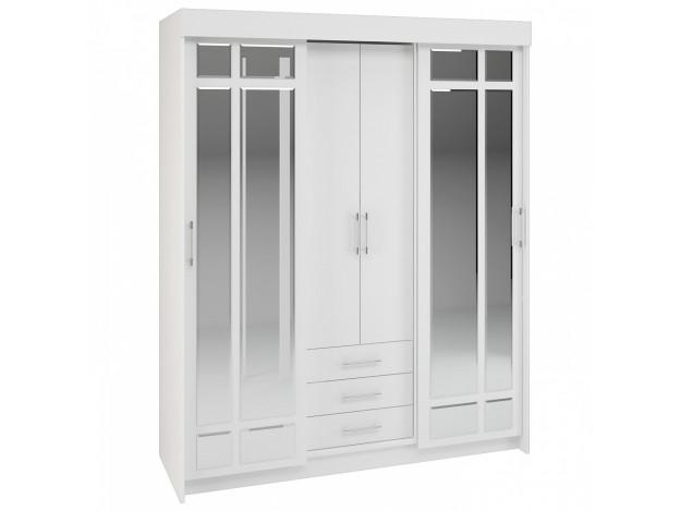 Шкаф-купе «Фортуна»(1.7м) Белый