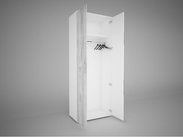Шкаф 2створчатый «Соренто Evo»