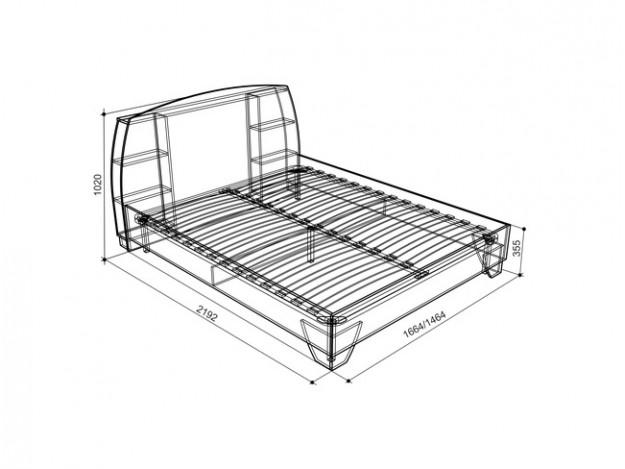 Модуль 1.2 - Кровать схема