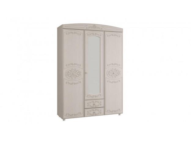 """Спальня """"Каролина"""" Шкаф 3-х дверный комбинированный с зеркалом"""