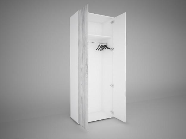 Модуль 8  Шкаф 2створчатый с зеркалом