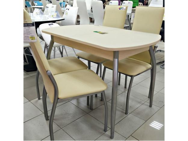 Стол раздвижной «Гала-1» (стекло)