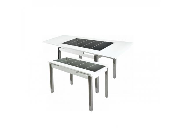 Стол раздвижной «Гала-23» (стекло)