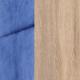 Дуб сонома/ Велюр голубой