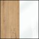 Дуб Бунратти - Белый глянец