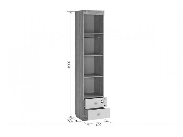 Шкаф комбинированный (с ящ., 1-ств) Форсаж c[tvf