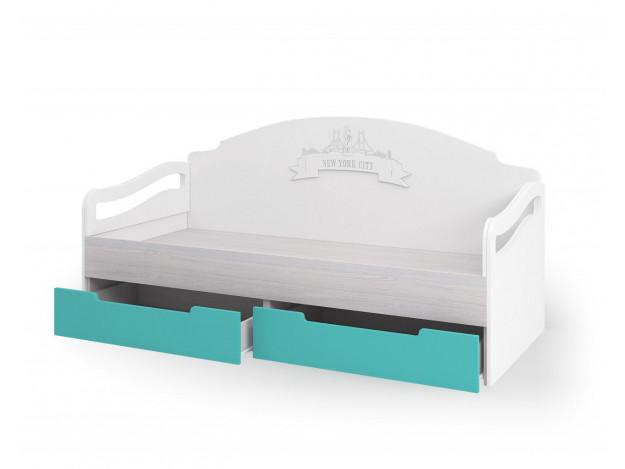 Кровать с ящиками (80х180) Миа КР 051 модуль 9