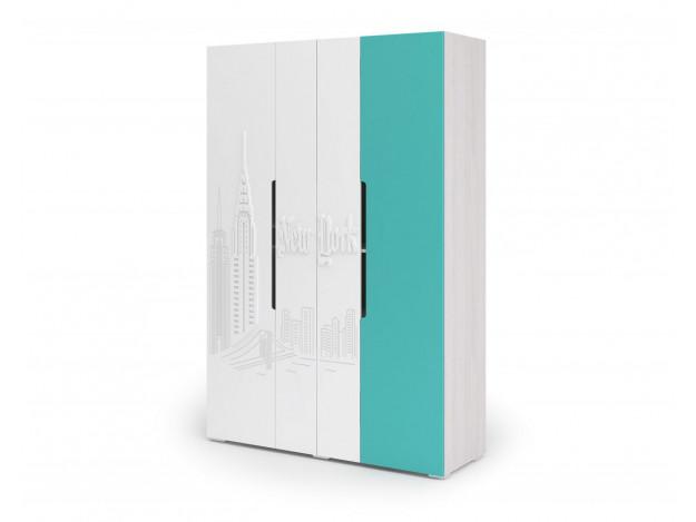 Шкаф 4-х дверный Миа ШК 054 модуль 2