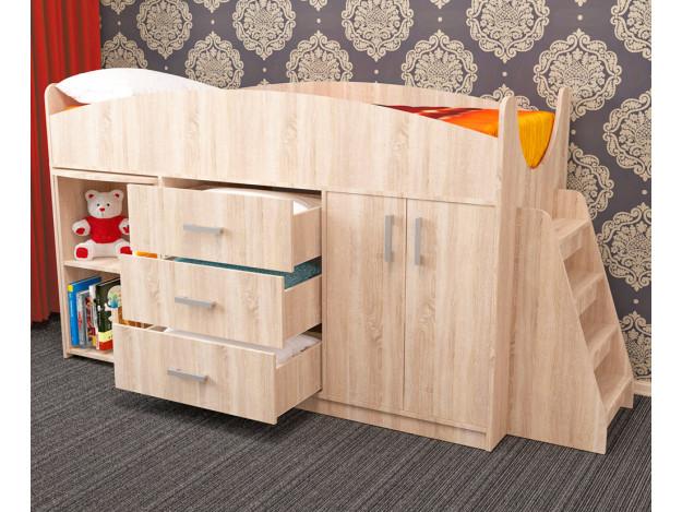 Кровать детская «Рокси» (70х180)
