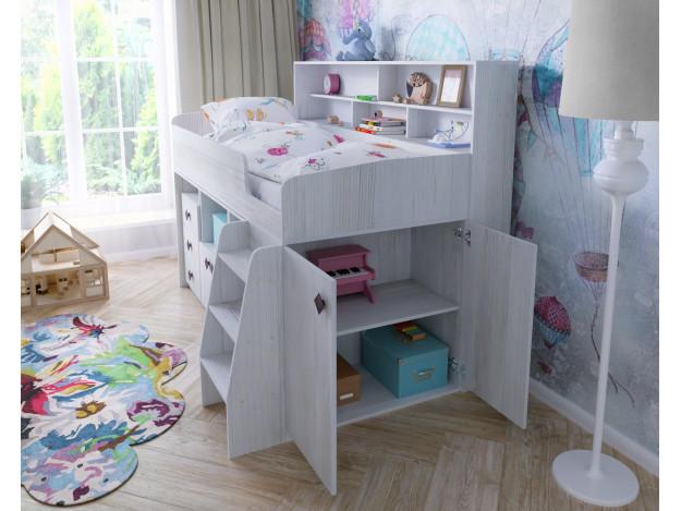Кровать-чердак «Малыш-5» (80*180см)