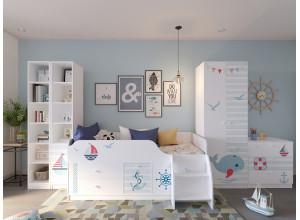 Кровать детская «Смарти-3» с ящиками