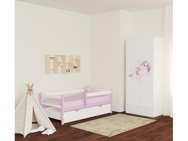 Кровать детская «Солвиг» (массив)