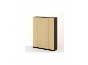 Шкаф распашной 4х-створч. с 2 ящиками