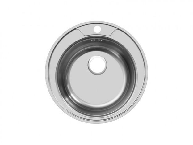 Мойка врезная круглая D 490