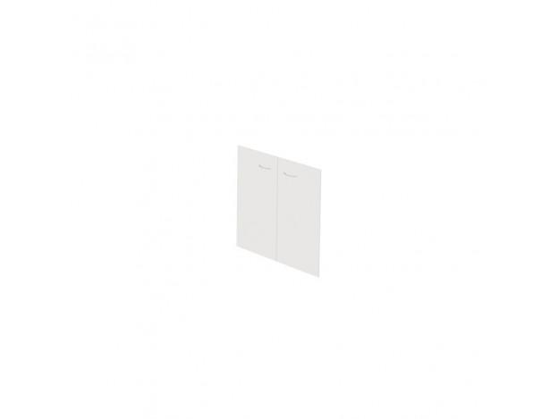 Двери стеклянные Work W-01.2 (для низкого стеллажа)