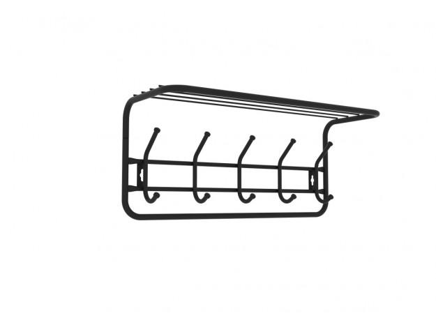 Вешалка с полкой (60 см)