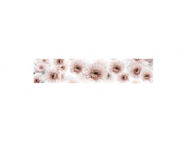 Декоративная панель BS-67 (Розовые хризантемы)
