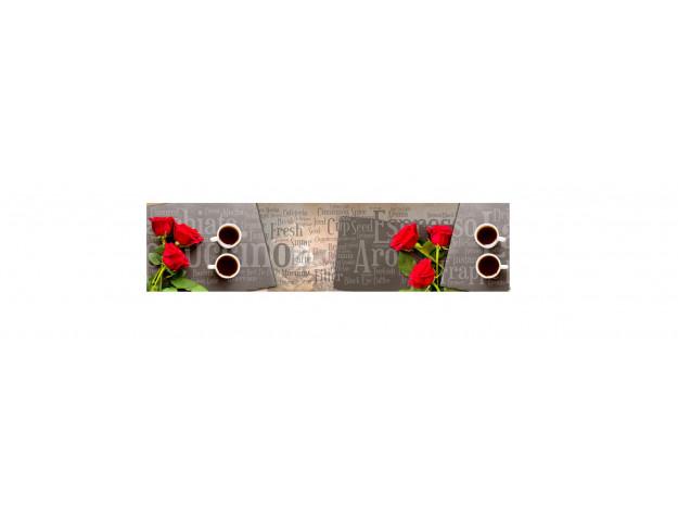 Декоративная панель AG-96 (Розы и кофе)