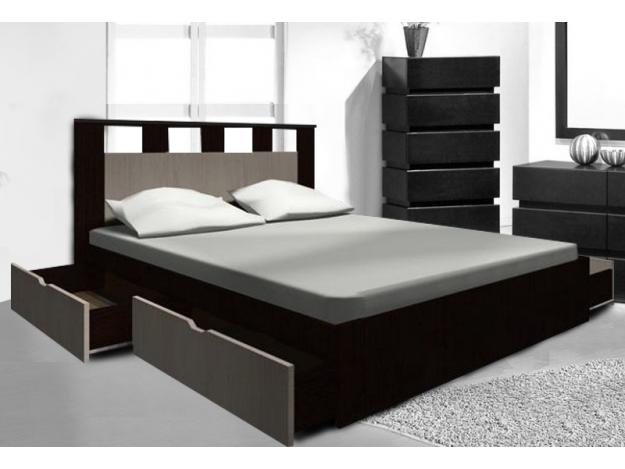 """Кровать """"Аризона"""" с ящиками (1.6м)"""