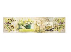 Декоративная панель Олио/тиснение кирпич