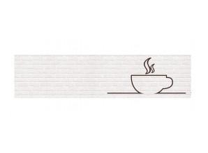 Декоративная панель Чашка /тиснение кирпич