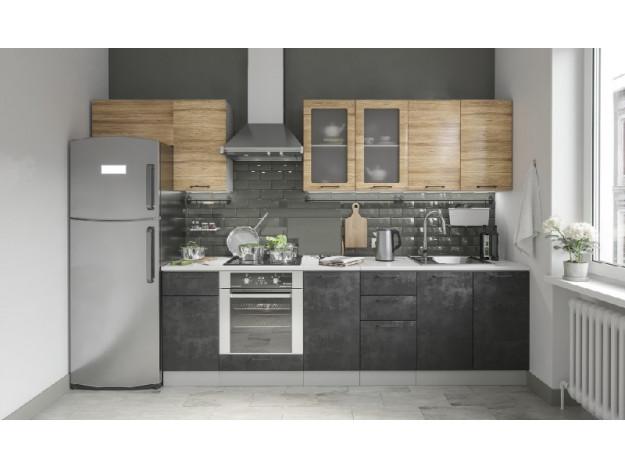 """Кухня """"Лофт"""" (2.6м)(модульная)"""