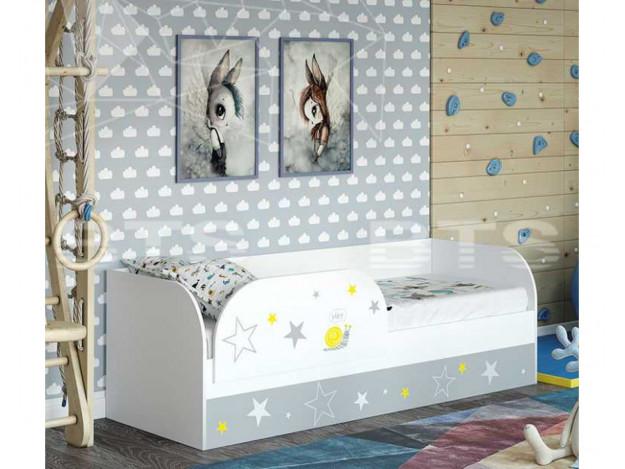 """Кровать детская (с подъёмным механизмом) """"Трио"""" КРП-01 (Фотопечать)"""