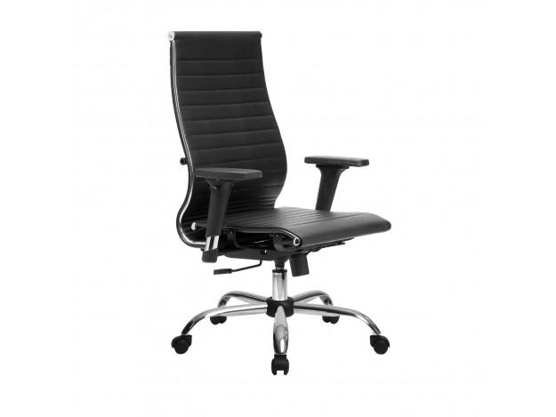 Эргономичное кресло МЕТТА Комплект 10/2D черный