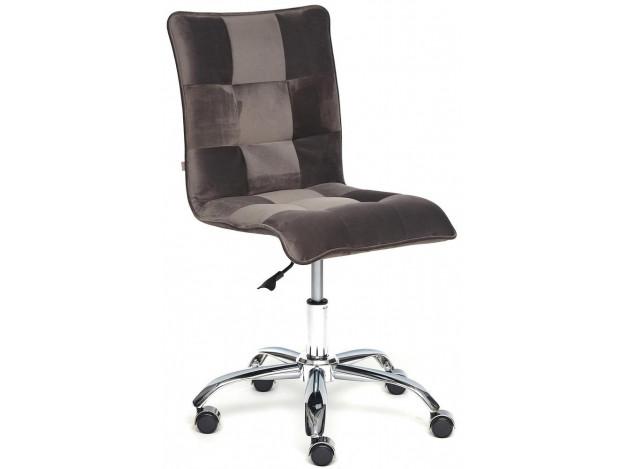 Кресло ZERO велюр, коричневый, T17