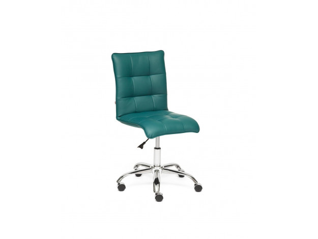 Кресло ZERO кож.зам, бирюзовый, 36-27