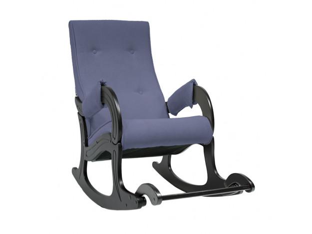 Кресло-качалка, мод 707 венге/ синий